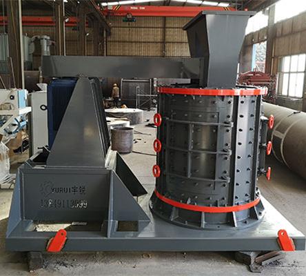 新型制砂机具有更完整的操作系统和安全性