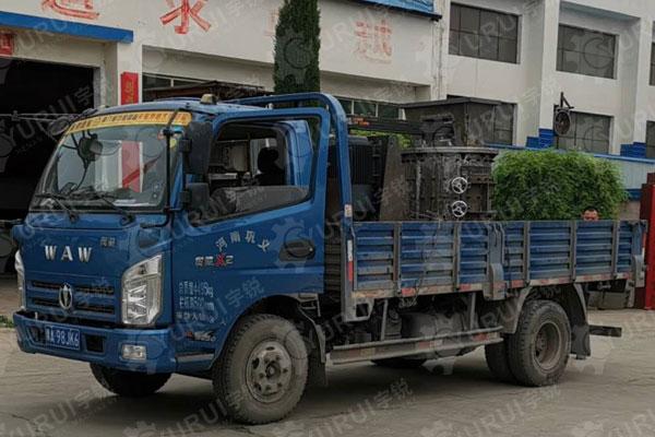 800型立式数控制砂机赶工期发往河南灵宝