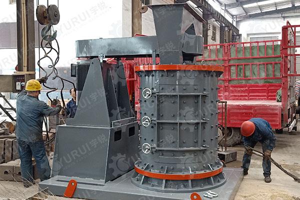 1250立轴式型数控制砂机发往湖北宜昌
