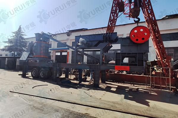 移动式石头粉碎机生产厂家 智能化设备更受矿山企业关注